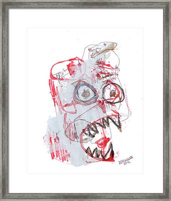 Patient In Room 32 Framed Print