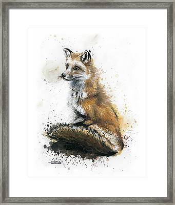 Patiently Waiting Framed Print by Arleana Holtzmann