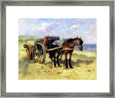 Patiently Waiting Framed Print