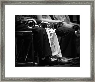 Framed Print featuring the photograph Patiently Waiting... by Trish Mistric