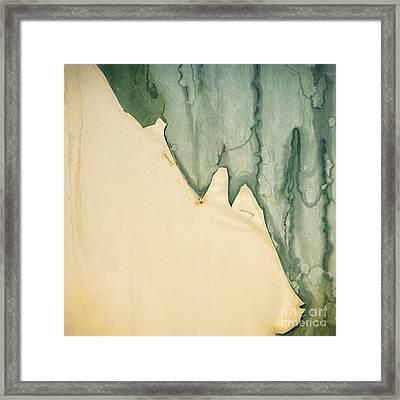Patina 4 Framed Print