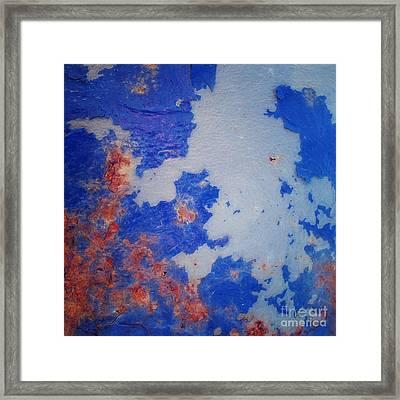 Patina 6 Framed Print