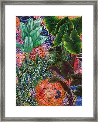 Patinguina Samai  Framed Print