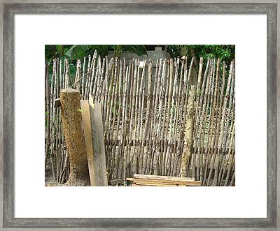 Patio 3 Framed Print