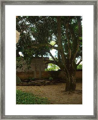 Patio 6 Framed Print