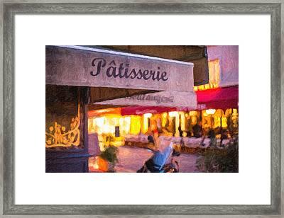 Patisserie - Paris Art Print Framed Print