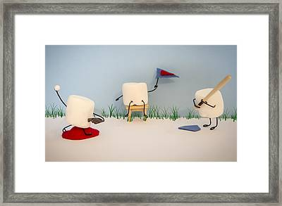 Patisserie Pastime Framed Print by Heather Applegate