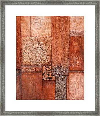 Patria Divisa Framed Print