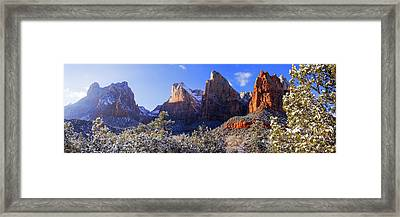 Framed Print featuring the photograph Patriarchs by Chad Dutson