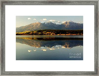 Patricia Lake Framed Print by Frank Townsley