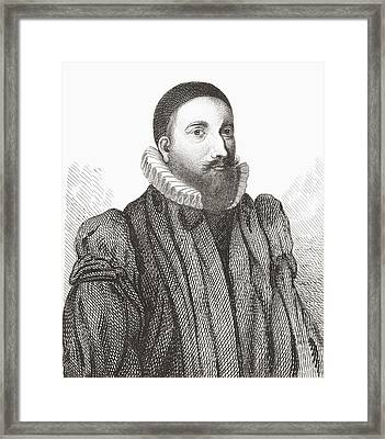 Patrick Forbes, 1564 Framed Print