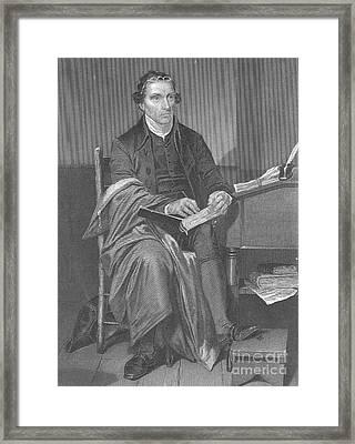 Patrick Henry, American Patriot Framed Print