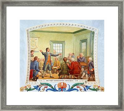 Patrick Henry, First Continental Framed Print