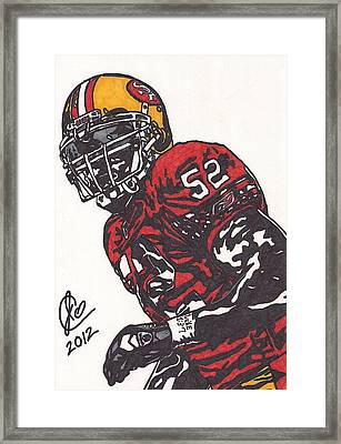 Patrick Willis Framed Print