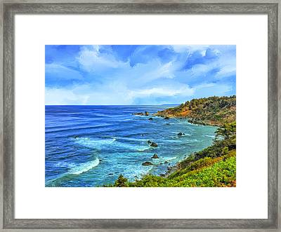 Patrick's Point Framed Print by Dominic Piperata