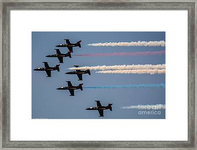 Patriot Aerial Demonstration Team Framed Print by Tommy Anderson