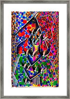 Patriot Framed Print by Al Goldfarb