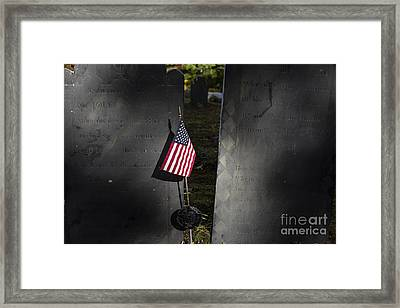 Patriot Framed Print by John Greim