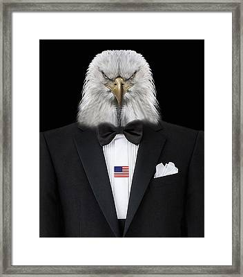 Patriot Framed Print by Manfred Lutzius