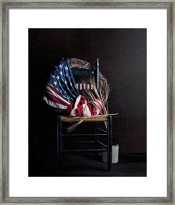 Patriotic Decor Framed Print