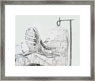Patriotism Framed Print by Jean Nathan Forges