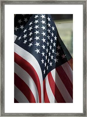 Patriotism Framed Print by Jerry McElroy