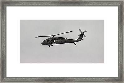 Patrol Framed Print by Martin Newman