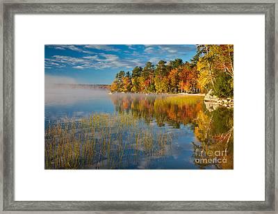 Patten Pond Framed Print