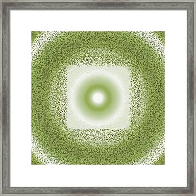 Framed Print featuring the digital art Pattern 198 by Marko Sabotin
