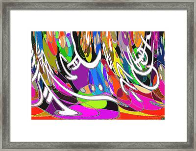 Pattern 205 _ Balance Framed Print
