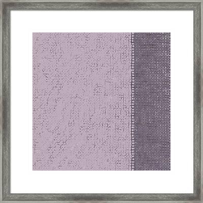 Framed Print featuring the digital art Pattern 219 by Marko Sabotin