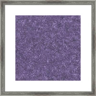 Framed Print featuring the digital art Pattern 225 by Marko Sabotin
