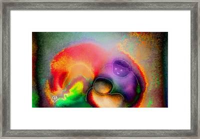 Pattern 239_ Relationship  Framed Print