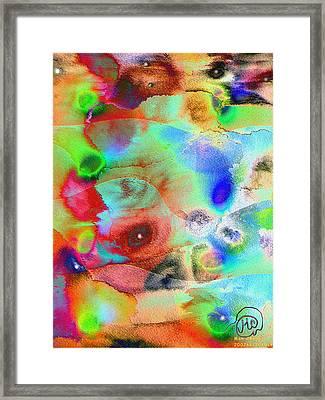 Pattern 242 _ Imagination Framed Print