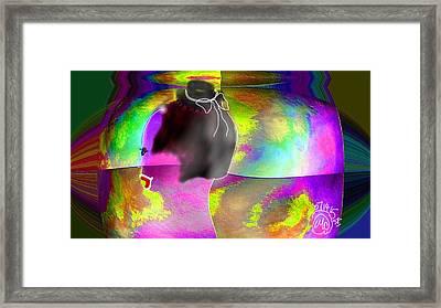 Pattern 266 _ Shine Framed Print