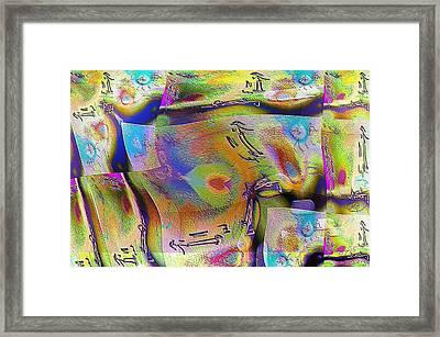 Pattern 268 _ Live Framed Print