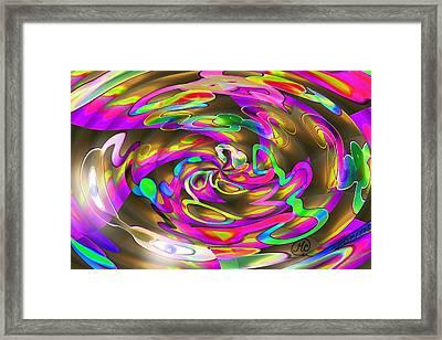 Pattern 269 _ Wired Framed Print