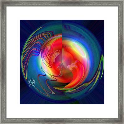 Pattern 279 _ Light Framed Print