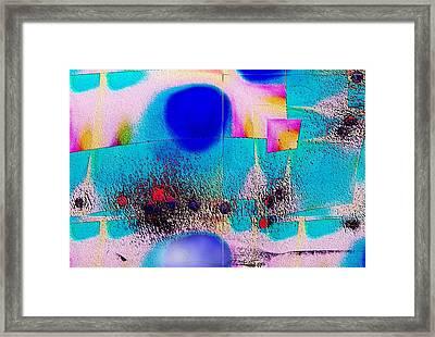 Pattern 283 _ Rise Framed Print