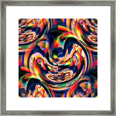 Pattern 284 _ Intensity Framed Print