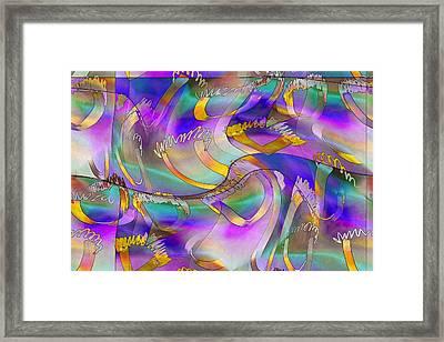 Pattern 285 _ United Framed Print