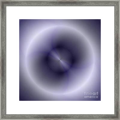 Framed Print featuring the digital art Pattern 43 by John Krakora