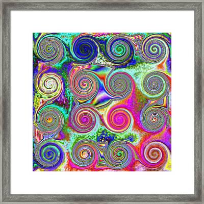 Pattern 46 Framed Print