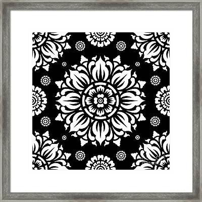 Pattern Art 01-1 Framed Print