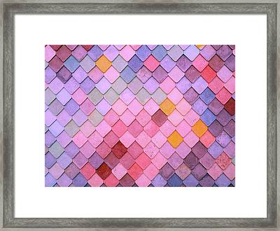 Pattern Framed Print by Happy Home Artistry
