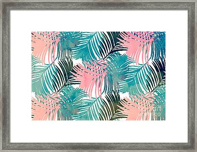 Pattern Jungle Framed Print