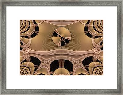 Framed Print featuring the digital art Pattern by Ron Bissett