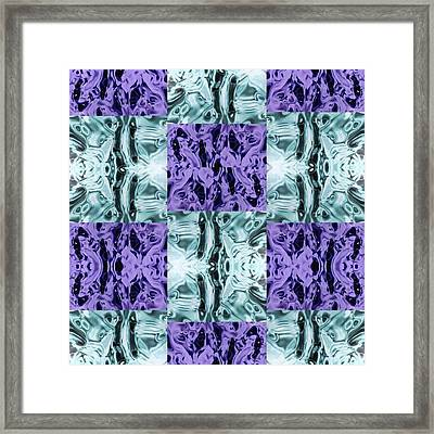 Ultra Violet  And Water  Framed Print