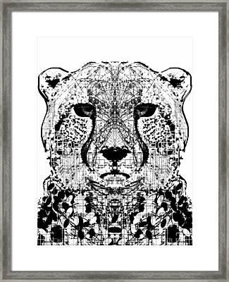 Patterned Cheetah Framed Print
