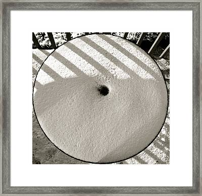 Framed Print featuring the photograph Patterns 6 by Sean Griffin